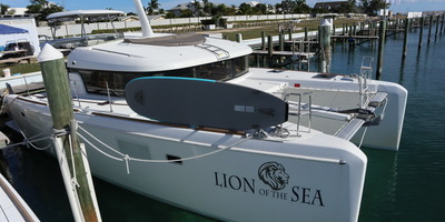 Md 400 lion of the sea docking