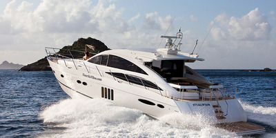 Md 400 69ft 2 boat yachting rental charter st barths gustavia nikki beach eden rock