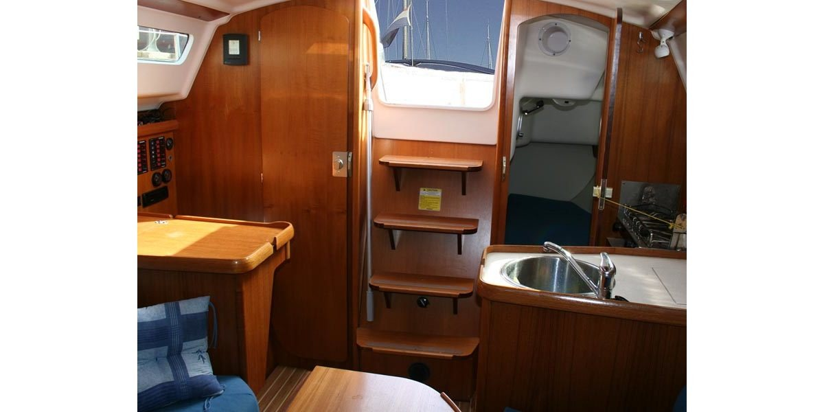 Xl 1200 sailboat kitchen