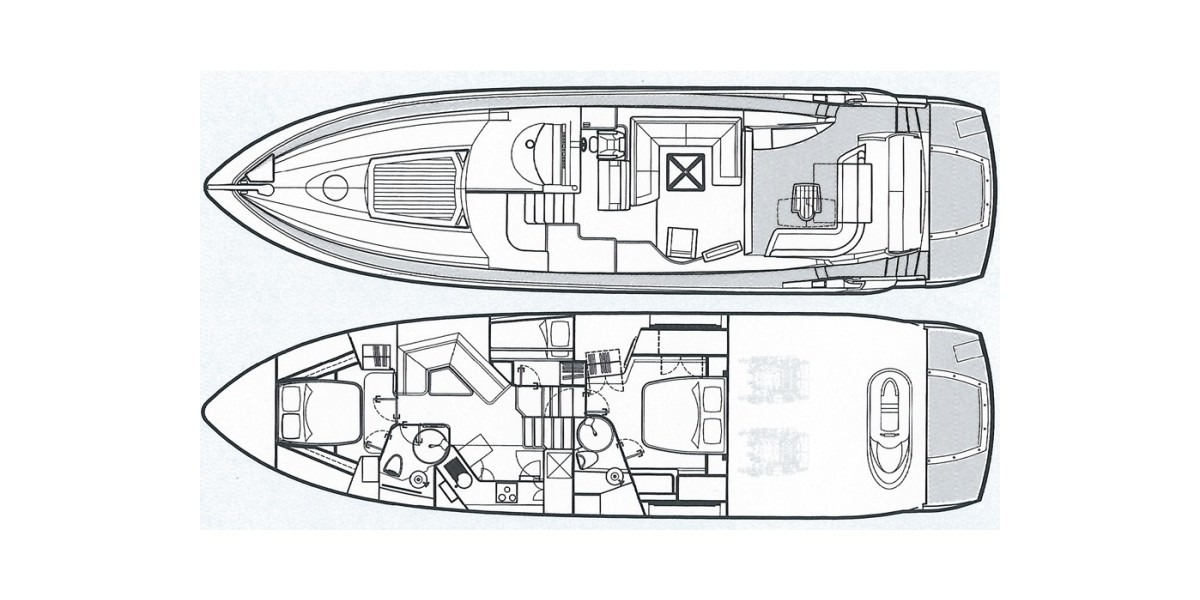 Xl 1200 sunseeker predator 62 layout