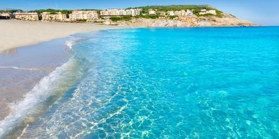 Sm 400 the best beaches of majorca majorca cala mesquida beach in mallorca balearic islands of spain 536 8538